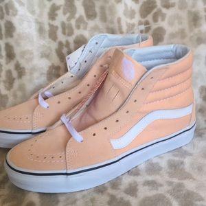 Vans Shoes   Vans New Peach Hi Top